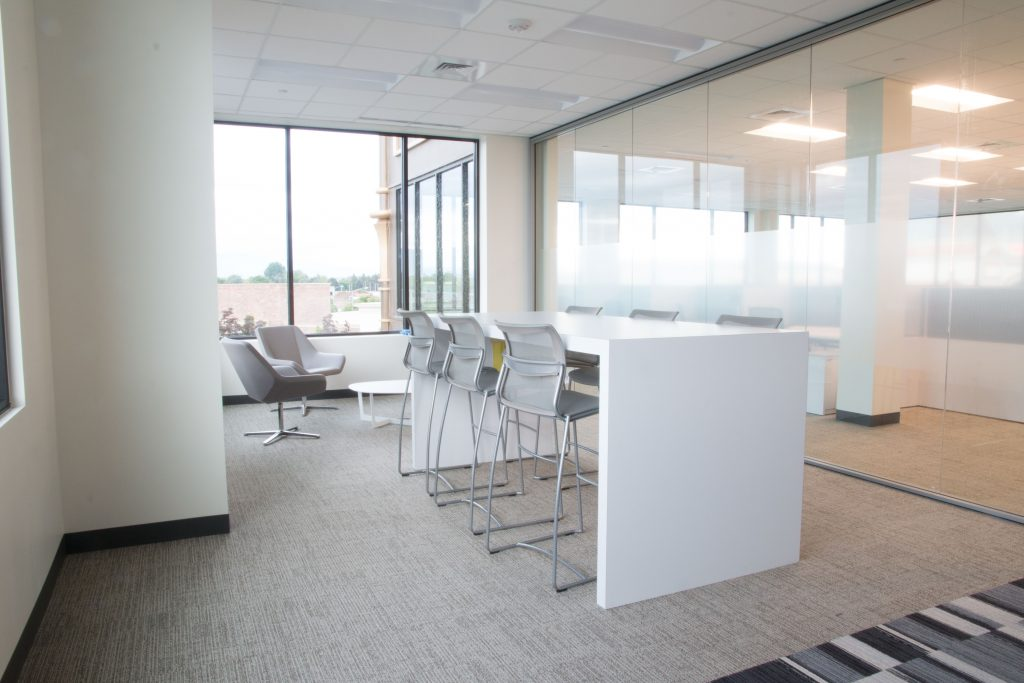 Standing Mobile Workstation in Office in Boise, ID