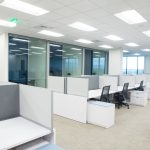 Office Cubicles after Installation at Boise Corporation