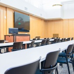 Lecture Hall Tables and Chairs for University Law School in Boise