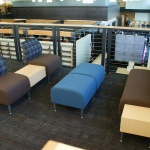 Furniture in Library at University Law School in Boise, ID
