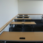 Tables in Classroom at University Law School in Boise, ID