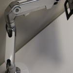Monitor Arms on Desk for Workspace Design Firm in Boise