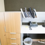 Storage on Desk at Commercial Business in Boise, ID