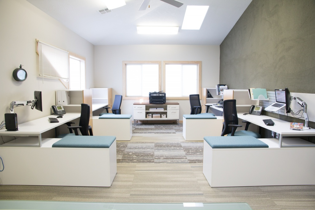Workstations for Workspace Design Firm in Boise