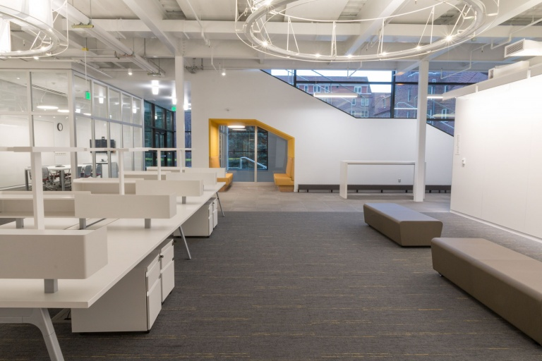 Commercial Grade Educational Furniture Design and Installation Project for University of Idaho