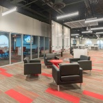 Commercial Lounge Seating in Office after Installation in Boise, Idaho