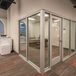 Architectural Wall Installation in Office in Boise, Idaho