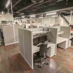 Open Office Design with Workstations