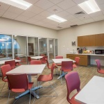 Office Cafeteria Seating with Bar in Office in Idaho
