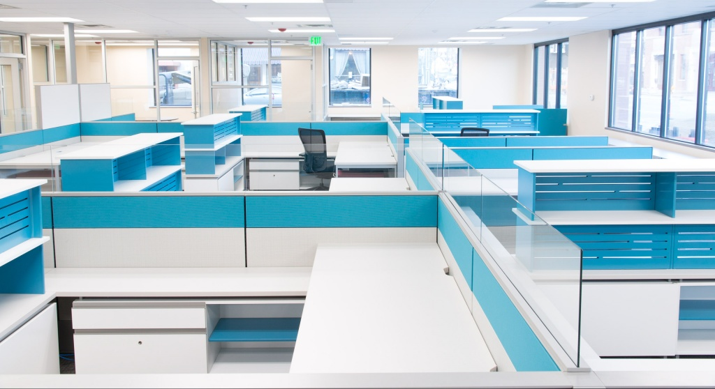 Cubicles for Human Resources Department for City Government Project
