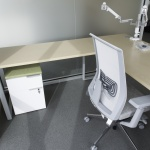 Commercial Desk in Office in Boise, ID