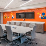 Conference Room Furniture in Large Company Office in Idaho