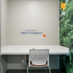 Focus Room Table and Chair in Commercial Office in Idaho