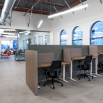 Workstations in Office in Boise