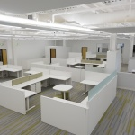 Open Office Area Concept for Happy Family Brands Office in Boise, Idaho