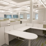 Interior Design for Commercial Workstations Designed with Haworth Compose Furniture