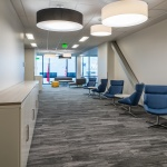 Hallway Seating in Office Building in Boise, ID