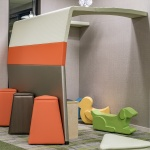 Children's Play Area with Furniture at Health Clinic in Idaho