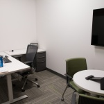 Office Furniture in Private Office at Company in Idaho