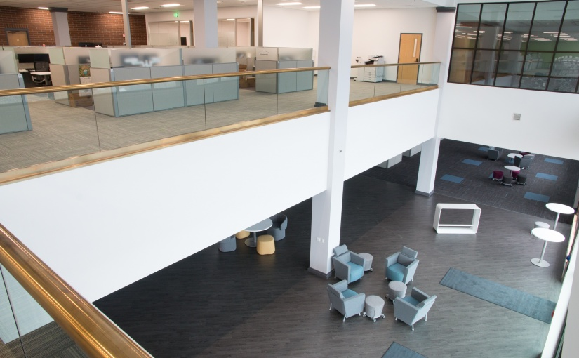 Office Lobby Seating at Company in Boise, ID
