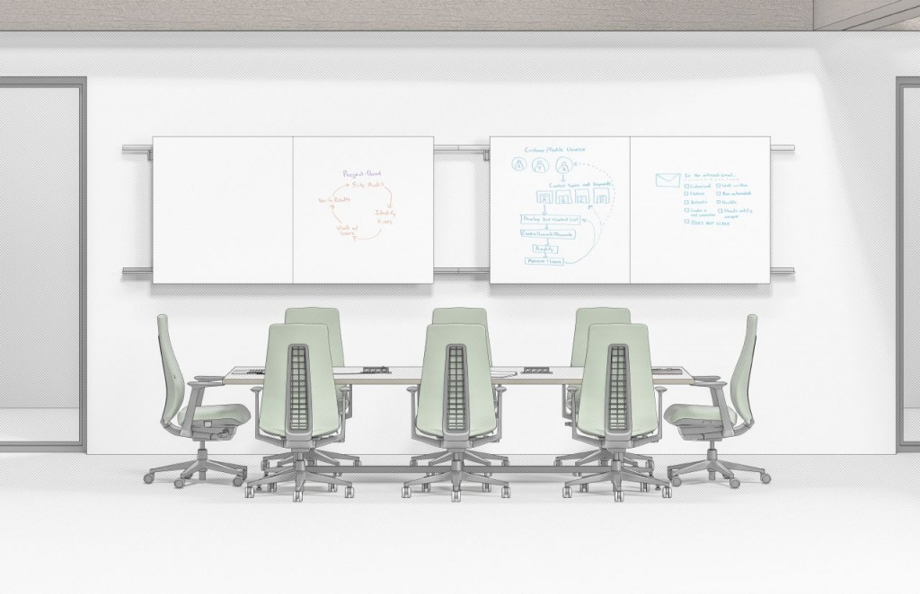Ancillary Commercial Furniture for Conference Room