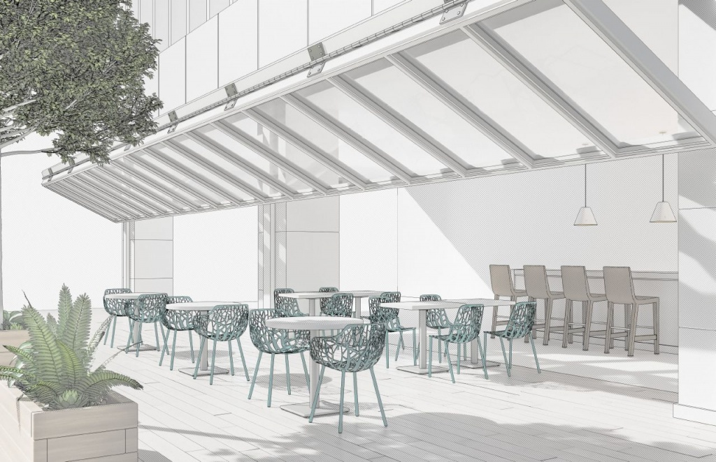 Outdoor Ancillary Commercial Furniture