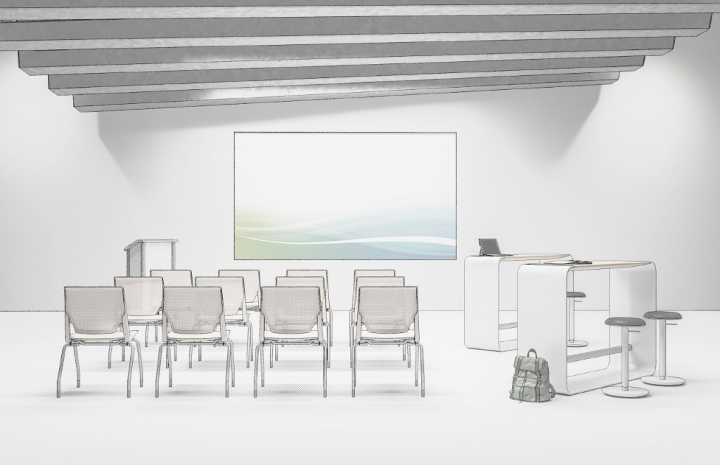 Ancillary Commercial Furniture for Training Room