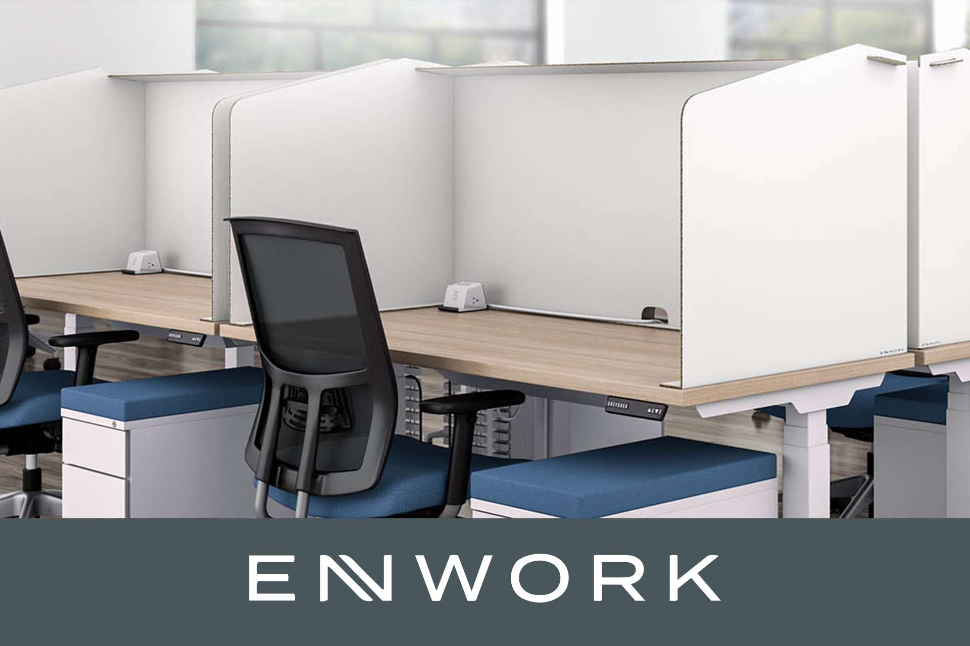 Enwork COVID 19 Rapid Response Harbor Screens Products For Physical Distancing
