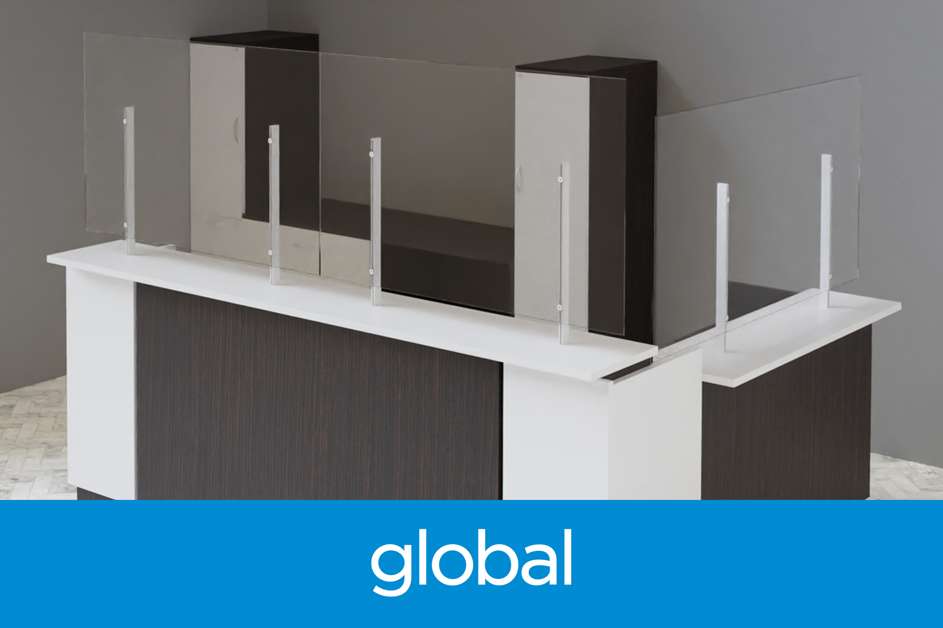 Global Wellness Screens Products For Physical Distancing