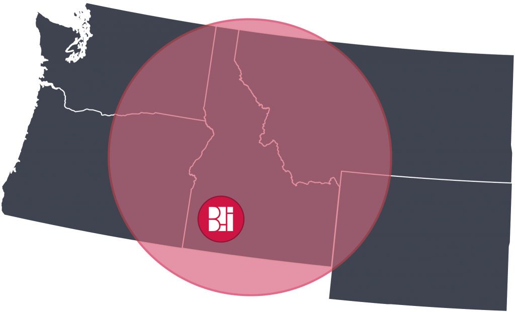 BII is a Commercial Furniture Dealer in Idaho, Washington, Oregon, Montana, and Wyoming