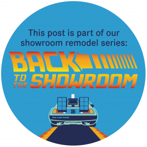 Back To The Showroom Series Button