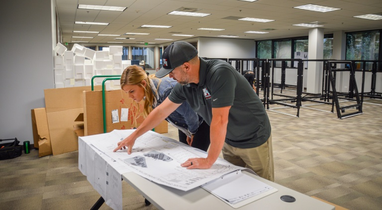 Planning for Office Remodel in Boise, ID