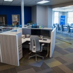 Commercial Cubicles for Insurance Company in Idaho