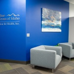 Business Reception Area Furniture for Insurance Company in Idaho