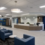 Office Furniture for Lobby Area in Insurance Company in Boise
