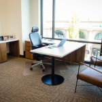 Commercial Private Office Furniture for Realty Company in Idaho