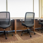 Table and Chairs for Shared Office in Realty Company in Boise