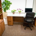 Private Office Office Furniture for Realty Company in Boise