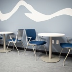 Business Break Room Furniture for Insurance Company in Idaho