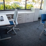 Business Private Office Furniture for Insurance Company in Idaho