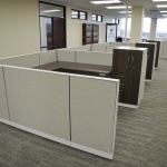 Open Office of Workstations in State Controller Office in Boise, Idaho