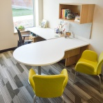 Commercial Private Office Furniture for University Building in Idaho