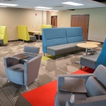 Collaboration Area Office Furniture for University Building in Boise