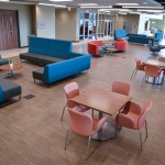 Commercial Lounge Area Furniture for University Building in Idaho