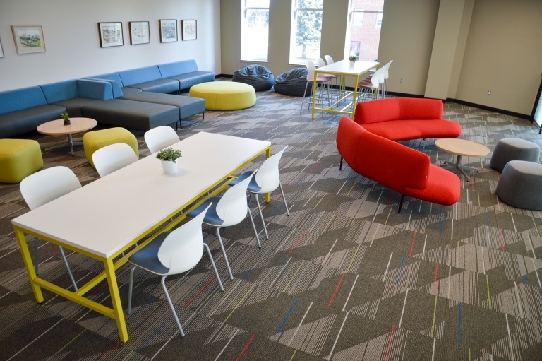 Education Lounge Area Furniture for University Building in Idaho