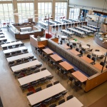 Commercial Café Furniture for University Building in Idaho