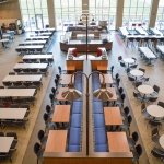 Commercial Cafeteria Furniture for University Building in Idaho