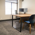 Table and Chairs for Office in Local Bank in Boise