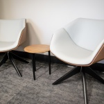 Chairs for Lounge Area in Local Bank in Boise