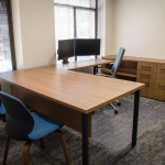 Commercial Private Office Furniture for Local Bank in Idaho